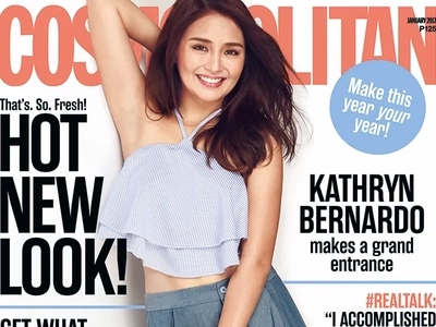 Kathryn Bernardo slays 2017 with a fresh and fun look for local mag cover