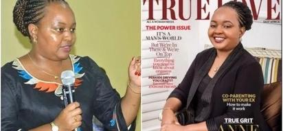 Kenyans go ham on Waiguru and True Love magazine after she was featured as an inspirational figure