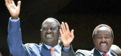 I Will Work With Uhuru, Obama Tells Raila Odinga