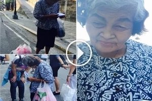 An Old Woman Is Walking Hundred Kilometers Daily Asking For Help To Have Eye Surgery!