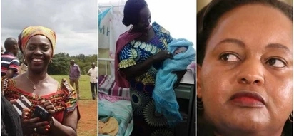 Martha Karua forced to save the life of a baby as nurses strike bites