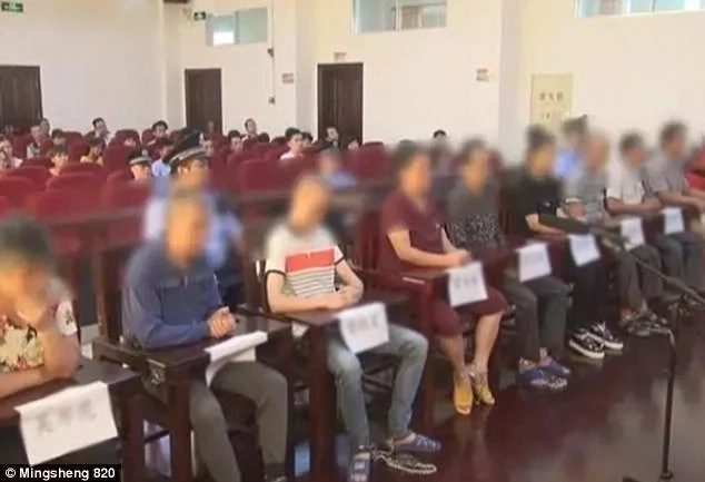 Chinese police also arrested eight other people in connection with the case. Photo: Mingsheng 820