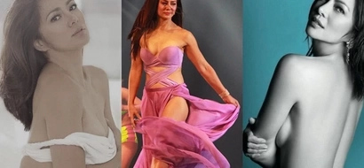 Ready to get knocked up! Alice Dixson is desperate to get pregnant anytime soon