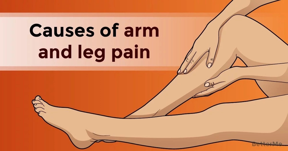Causes of arm and leg pain