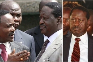 I've just spoken to Kalonzo – ODM leader Raila Odinga sets the record straight on Kalonzo Musyoka potential EXIT