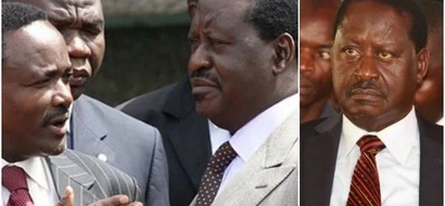 Raila rushes to his stronghold a day after he was EMBARASSED during Madaraka day celebrations