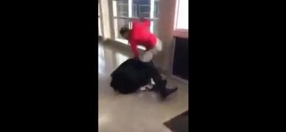 Teacher vs Student: Disgraceful fight in high school