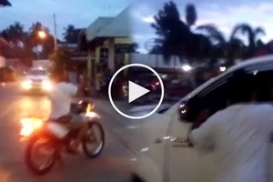 Siquijor mayor allegedly harassed netizen who took video of his road rage near public market