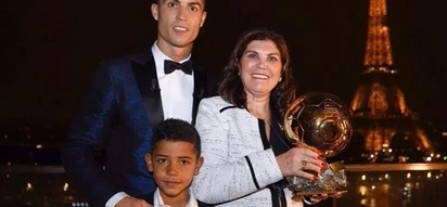Cristiano Ronaldo reveals what his son said to him after winning his 5th Ballon d'Or