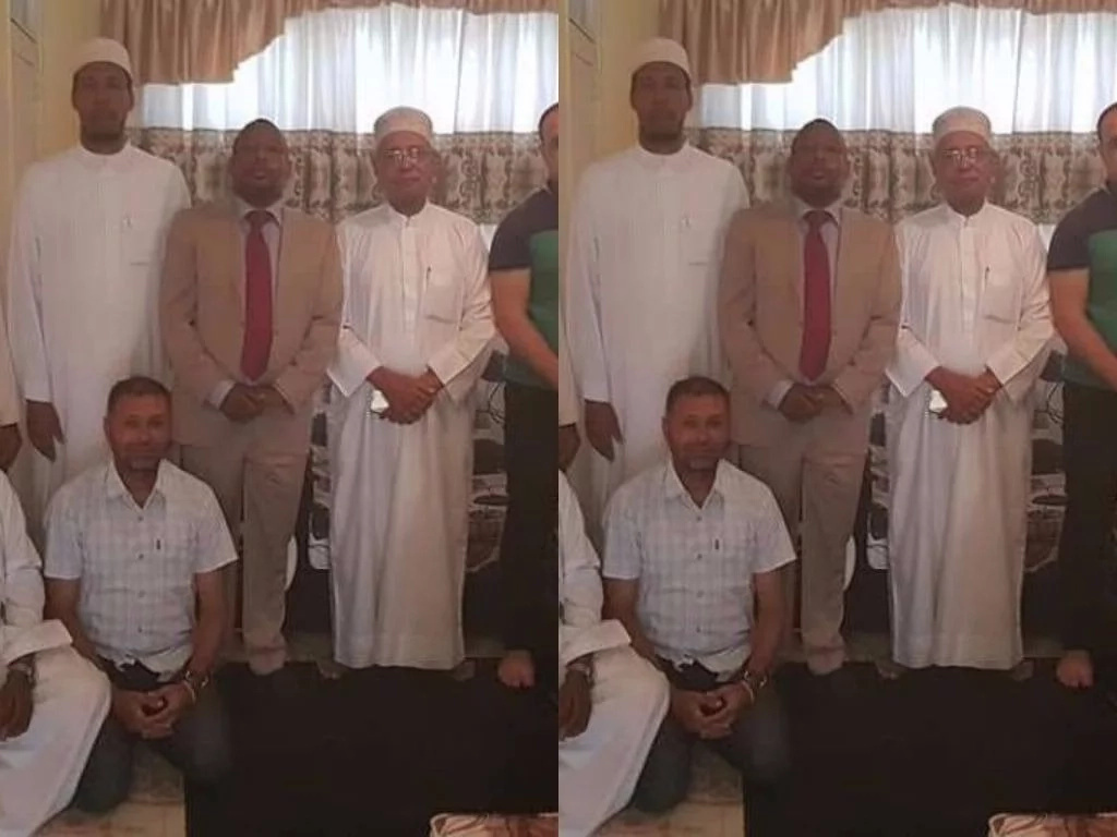 Mike Sonko prayed for by muslim leaders