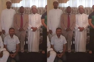 Muslim leaders hold prayers for Mike Sonko (photos)