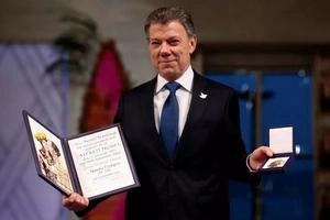 Juan Manuel Santos recibió el Premio Nobel de la Paz 2016