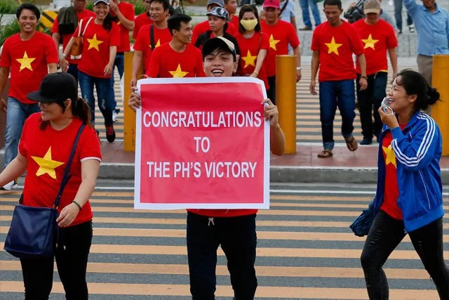 Dozens arrested in anti-China rally in Vietnam
