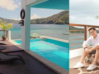"A breathtaking tour inside Enrique Gil's very ""yayamanin"" beach house. Lavish and superb!"