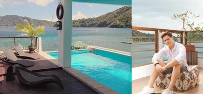 "A breathtaking tour inside Enrique Gil's very ""yayamanin"" beach house. Lavish and superb!"