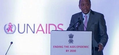 PHOTOS: Uhuru Gives Impassioned Speech Against HIV/AIDS