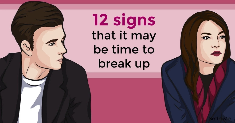 12 signs that it may be time to break up