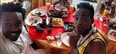 Picha za vidosho wa Willy Paul na Bahati; ni yupi MREMBO zaidi?