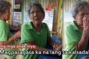 Tinalikuran nila siya! This old woman pins her survival in winning Lotto after her 10 children abandoned her! Read her painful story.