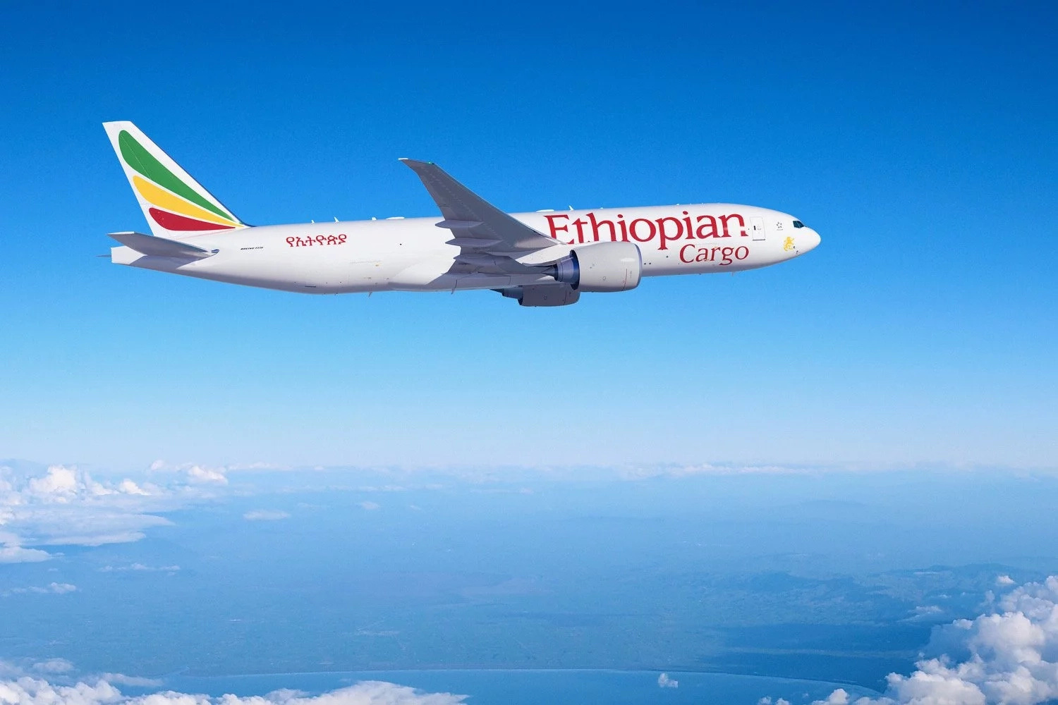 Ethiopian Airlines and Boeing announce an order for four Boeing 777 Freighters