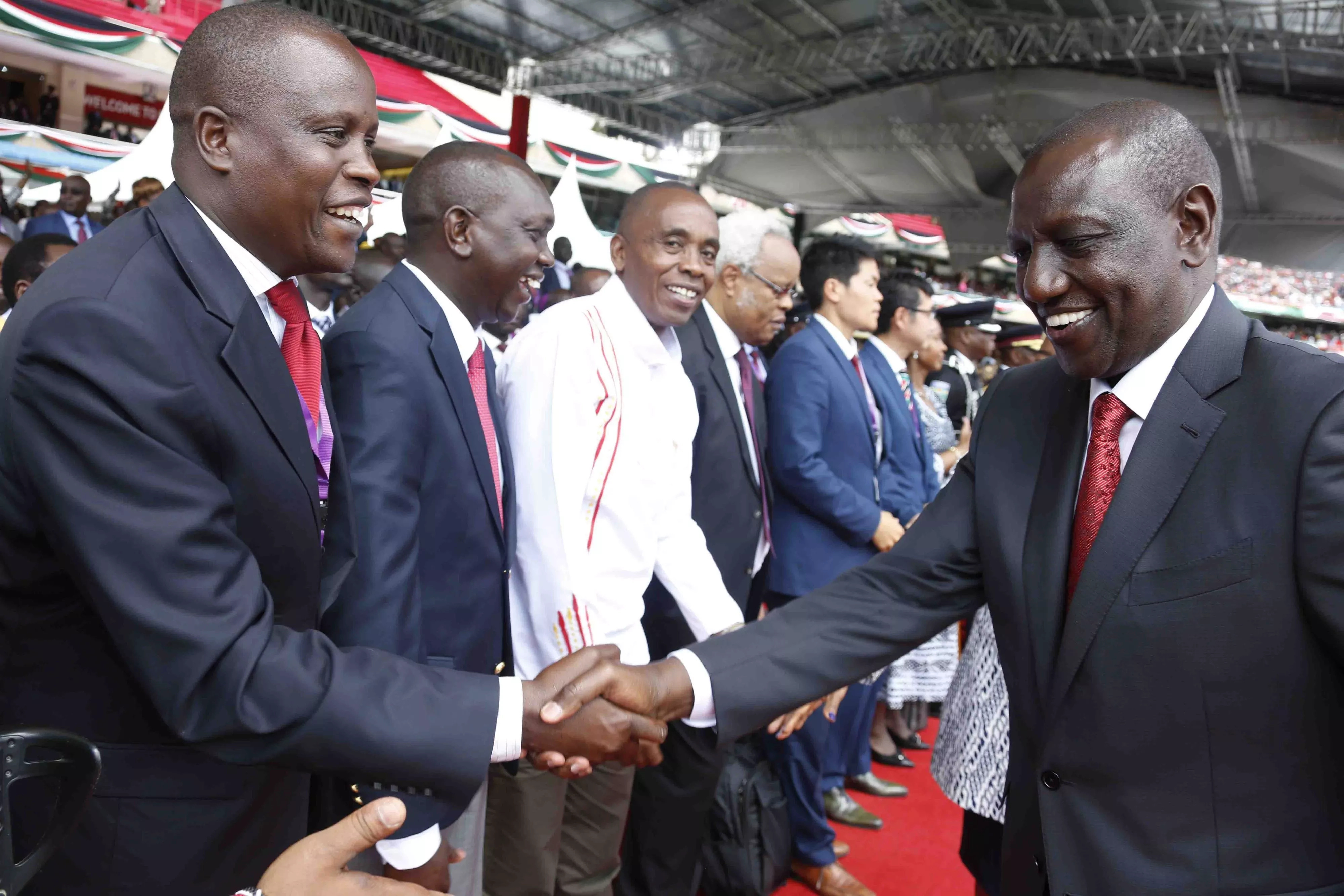 14 of the best photos that captured Uhuru Kenyatta's highly anticipated swearing in ceremony