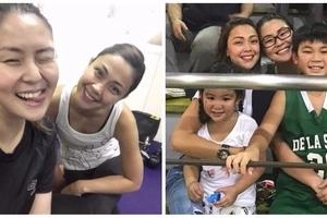 Wala talagang alitan! Jodi Sta. Maria and Iwa Moto shares photos during their gym session