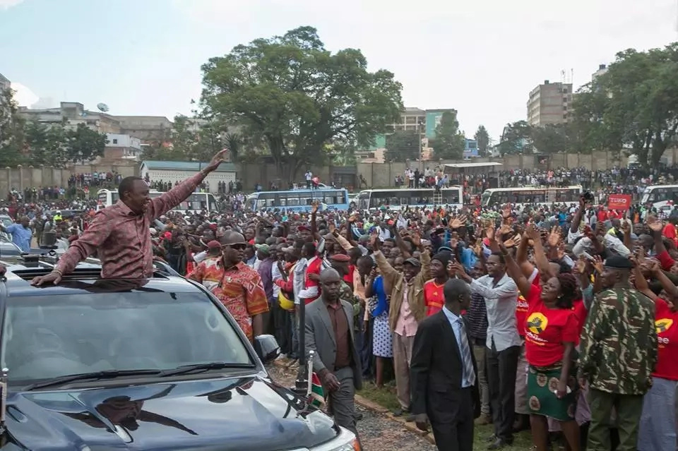 Jubilee's planned rally cancelled moments after Raila landed in Mombasa