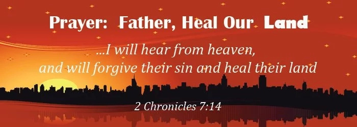 Prayer for healing the nation