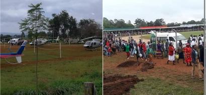 Forget Uhuru snubbing Raila, something happened on Madaraka Day in Nyeri that has left Kenyans stunned (photos)