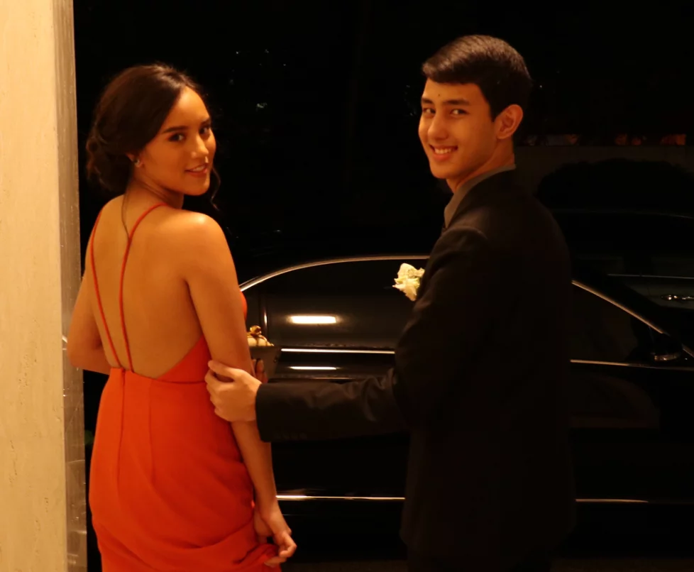 Stage Parents Lucy and Richard Gomez shares Juliana's prom look