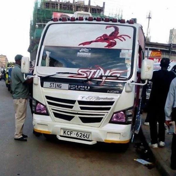 Matatu 16 za kuvutia zaidi na zisizopendeza Nairobi