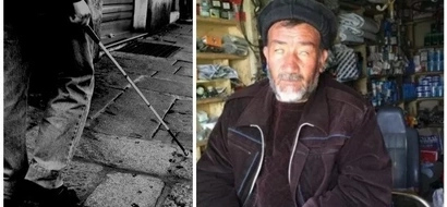 Blind billionaire! Man, 48, who lost his sight during war becomes a respected BILLIONAIRE (photos)