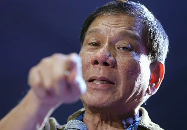 Duterte vows justice against corrupt gov't employees