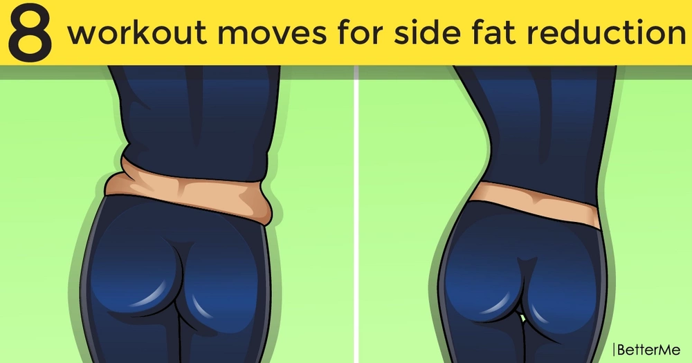 8 effective workout exercises for side fat reduction