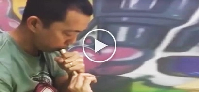 Unfortunate Filipino smoker suffers horrible injury after e-cigarette explodes in his hand