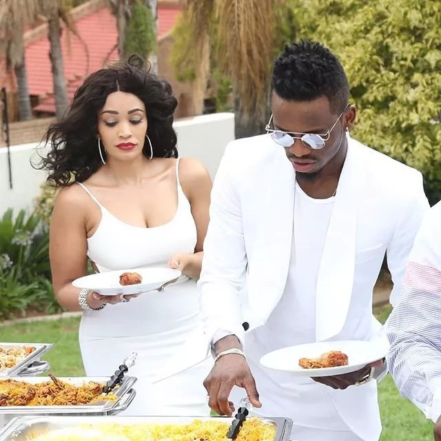 Diamond Platnumz sends a clear message to his baby mama