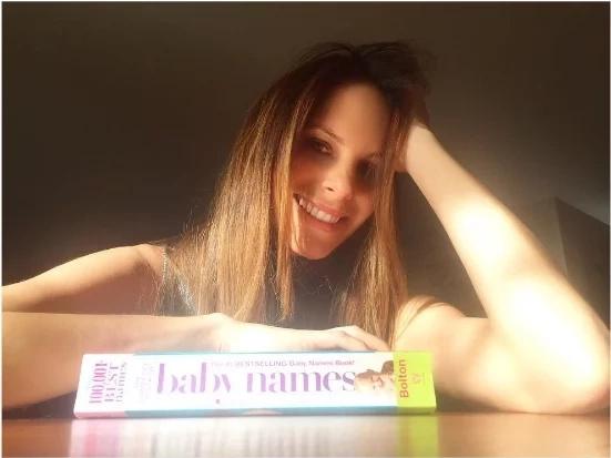 Julieta Piñeres posa en su último día de embarazo. ¡Te sorprenderá cómo se ve!