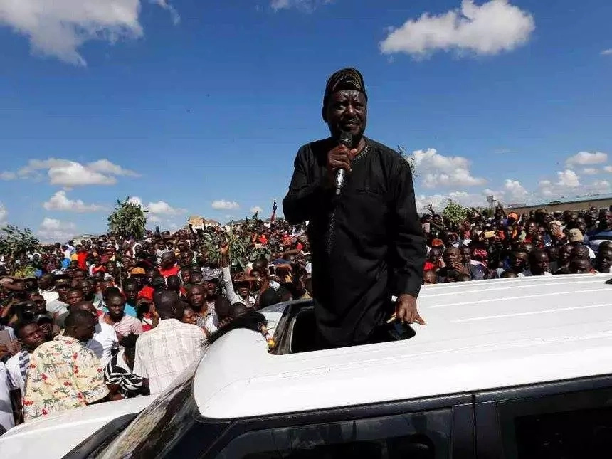 That is the joke of the year - Kenyans say after Raila Odinga announces his inauguration date