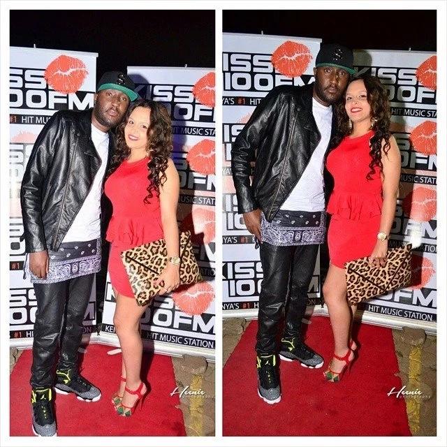 4 Photos of Kiss 100 Shaffie Weru's hot wife