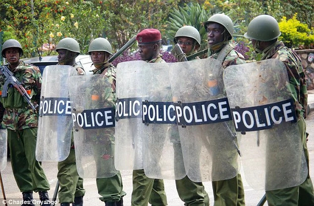 new police equipment ahead of poll