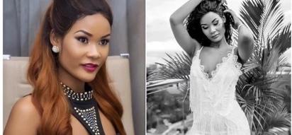 Diamond Platinumz Mpango wa Kando shows off her fine body in see-through dress