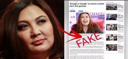 Huwag paniwalaan agad! Sharon Cuneta clarifies that she does not have HIV
