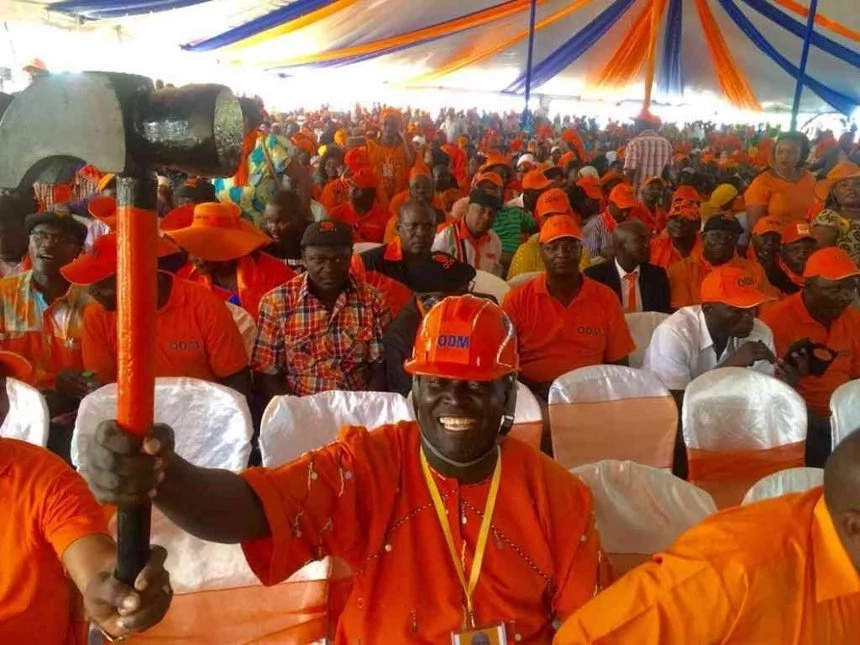 Kenyans react to power glitch at ODM's grand celebration