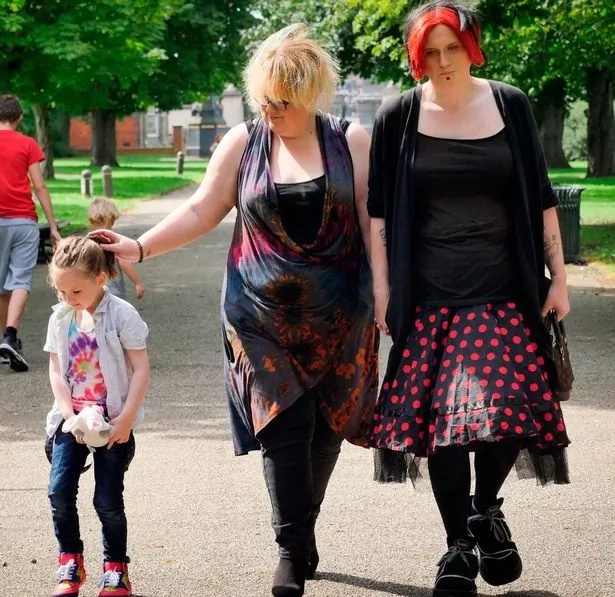 Family like no other! Mum is dad, dad is mum, and their 4-year-old son has no gender yet