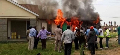 Burning of Syokimau AP camp blow to probe into murder of lawyer, 2 others