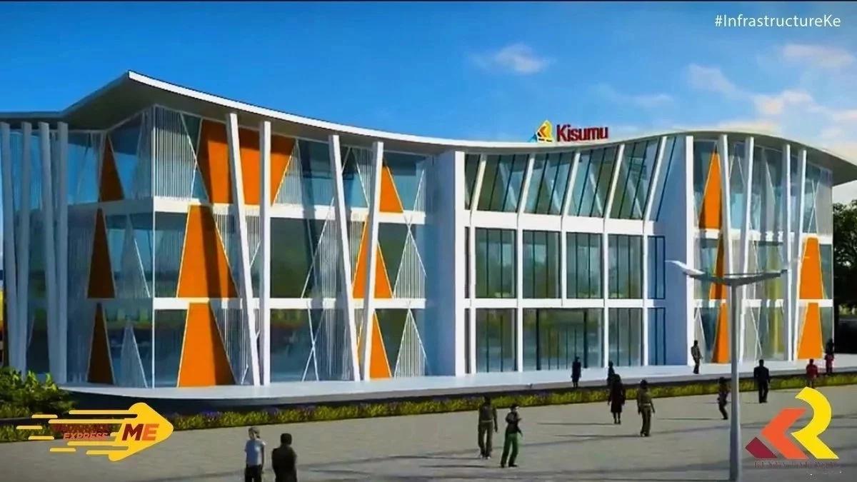 Ramani ya Kituo cha SGR mjini Kisumu