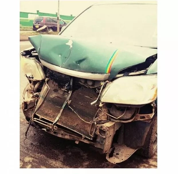 Kenyan band involved in another accident months after suffering the same predicament