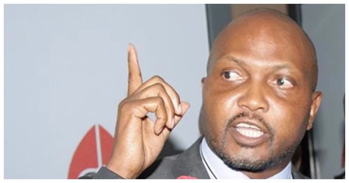Moses Kuria sensationally claims NASA plans to swear in Raila in Kisumu