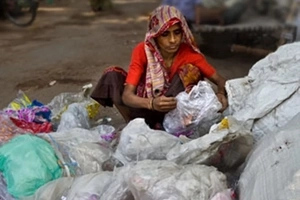 Mother of 3 who earned a living out of DUSTBINS for 10 years shares her story (photos)