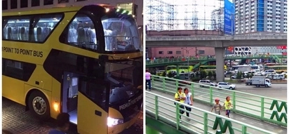 May ganito pala! Netizens puzzled by P2P Premium Bus Service's free shuttle ride from SM North Edsa to Trinoma